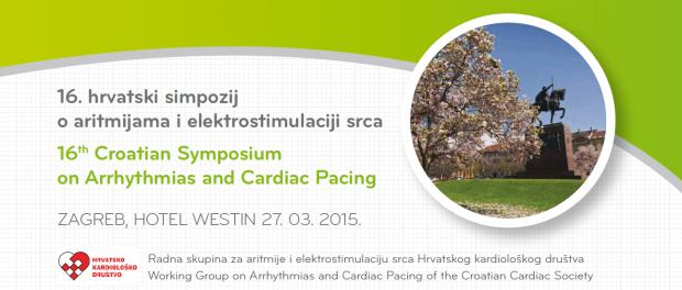 16 hrvatski simpozij o aritmijama i elektrostimulaciji srca